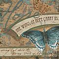 Wings of Hope Poster by Debbie DeWitt