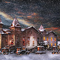 Winter - Clinton NJ - Silent Night  Poster by Mike Savad
