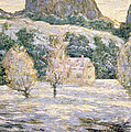 Winter Poster by Ernest Lawson