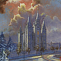 Winter Solace Print by Jeff Brimley