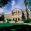 Wisconsin Bright Colors At Bascom Print by UW Madison University Communications