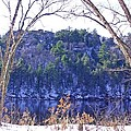 Wisconsin River 3 Print by Dave Dresser