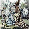 WOMENS FASHION, 1877 Poster by Granger
