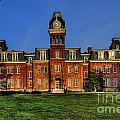 Woodburn Hall in morning Poster by Dan Friend