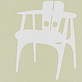 Wooden Chair Poster by Irina  March
