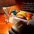 Word of God Print by Cindy Wright