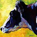 Working Girl - Holstein Cow Poster by Marion Rose