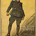 World War I, Poster Shows A Wounded Poster by Everett