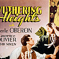 Wuthering Heights, Laurence Olivier Poster by Everett