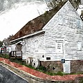 Wye Mill - Water Color Effect Print by Brian Wallace