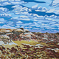 Wyoming afternoon Print by Dale Beckman