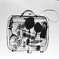 X-ray Of Suitcase Poster by Science Source