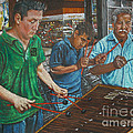 Xylophone Players Poster by Jim Barber Hove