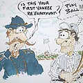 Yankee mistake Poster by Paul Chestnutt