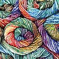 Yarn Print by Nadi Spencer
