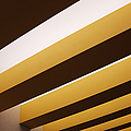 Yellow Ceiling Beams Poster by Jeremy Woodhouse