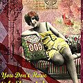 You Don't Have to be Skinny to be Beautiful Poster by Lynell Withers