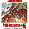 You Only Live Twice, Sean Connery, 1967 Poster by Everett