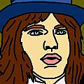 Young Mick Jagger Poster by Jera Sky