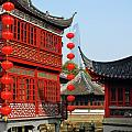 Yu Gardens - A Classic Chinese garden in Shanghai Print by Christine Till