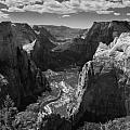 Zion Valley from Observation Point Poster by Steven Wilson