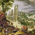 ROMAN FORUM, 16TH CENTURY Poster by Granger