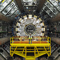Atlas Detector, Cern Print by David Parker