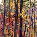 Autumn Leaves Print by Donald Maier