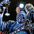 BB King Poster by Chris Benice