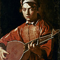 CARAVAGGIO: LUTEPLAYER Poster by Granger