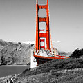 Golden Gate Poster by Greg Fortier