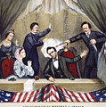 LINCOLN ASSASSINATION Print by Granger