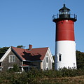 Nauset Lighthouse Poster by Gina Cormier