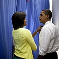 President Barack Obama And First Lady Poster by Everett