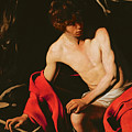 Saint John the Baptist Poster by Michelangelo Caravaggio