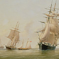 Ship Painting Print by WF Settle
