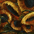 sunflowers Print by Michael Lang