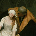 The Execution of Lady Jane Grey Print by Hippolyte Delaroche