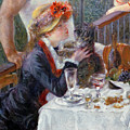 The Luncheon of the Boating Party Print by Pierre Auguste Renoir