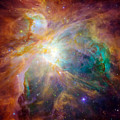 The Orion Nebula Print by Stocktrek Images