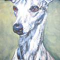 Whippet Poster by Lee Ann Shepard