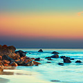 Sunset Poster by MotHaiBaPhoto Prints