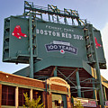 100 Years at Fenway Poster by Joann Vitali