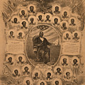 1868 Commemorative Photo Collage Print by Everett
