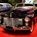 1941 Cadillac Series 62 Convertible Coupe . Front Angle Print by Wingsdomain Art and Photography