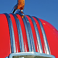 1951 Pontiac Chief Hood Ornament 2 Poster by Jill Reger