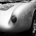 1955 Porsche 550 RS Spyder . Black and White Photograph . 7D9453 Print by Wingsdomain Art and Photography