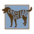Chocolate Lab Poster by Geoff Strehlow