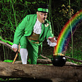 Leprechaun with Pot of Gold Poster by Oleksiy Maksymenko