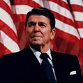 President Ronald Reagan Print by War Is Hell Store